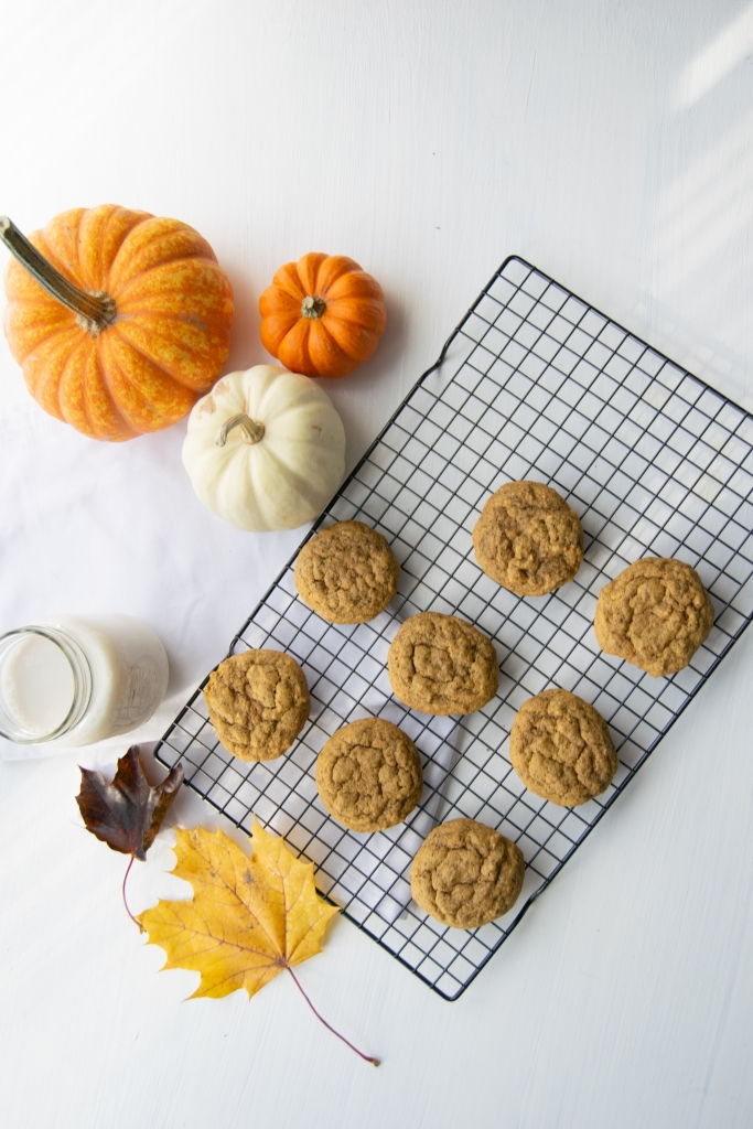 Pumpkin Spice Masala Chai Tea Infused Cookies