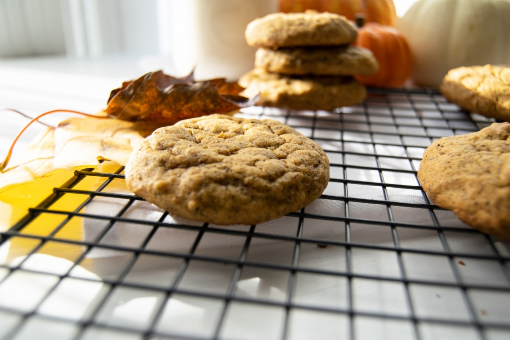 Pumpkin Spice Masala Chai Tea Infused Cookies Fall Recipe